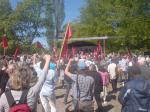 Vänstern talar på första maj