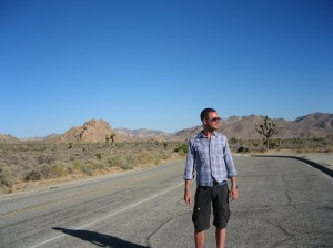 Peter i Joshua Tree